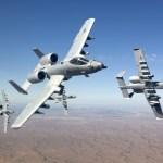 A-10 lançou a maioria das armas na luta contra o Estado islâmico