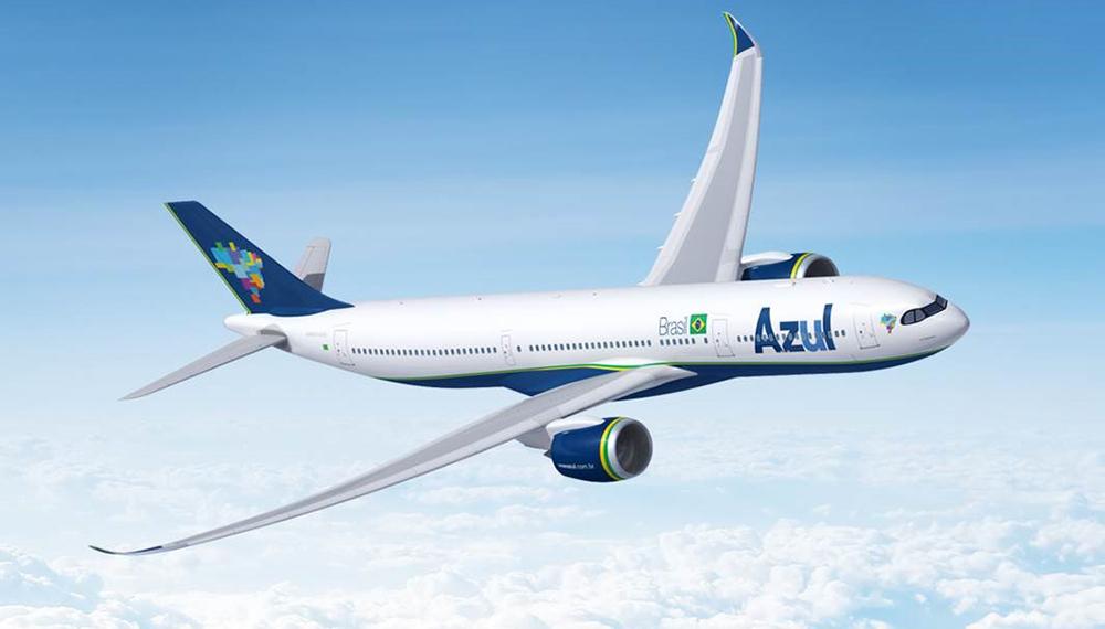 32ead4693599 Companhia Azul será a primeira da América do Sul e uma das primeiras do  mundo a operar o novo modelo A330-900neo da Airbus. (Foto: Airbus)