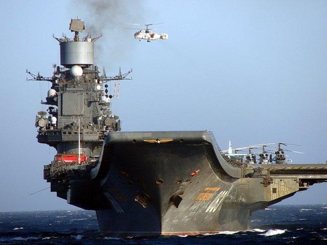 admiral kuznetsov - Corte no orçamento vai afetar a revisão do porta-aviões russo Admiral Kuznetsov