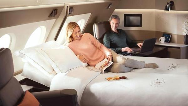 104813925 Suites 03405 600x338 - IMAGENS: Singapore Airlines revela nova experiência de voo a bordo de seus A380