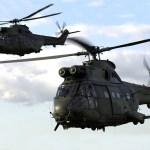 Frota de helicópteros Puma da RAF atinge a marca de 20 mil horas de voo