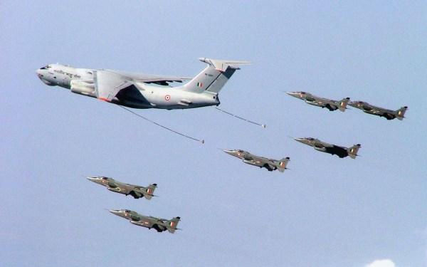0001 310 600x375 - Força Aérea da Índia inicia novo processo para compra de 6 aeronaves de reabastecimento aéreo