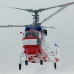 Russian Helicopters entregou cinco helicópteros Ka-32A11BC para a China em 2017