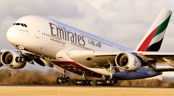 z pi Emirates to 600x331 - Emirates fecha acordo com a Airbus para 36 aviões A380