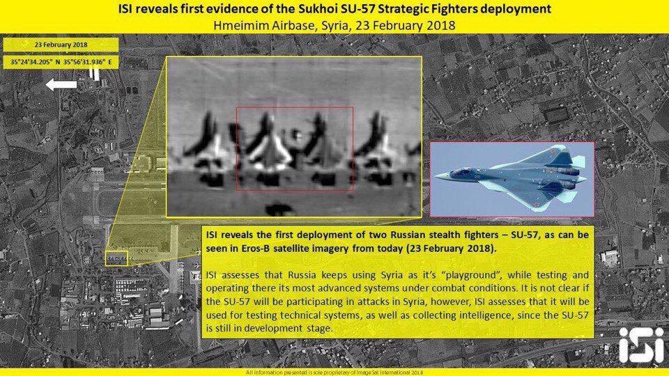 Resultado de imagem para su-57 na Síria