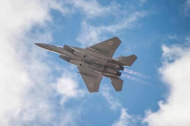 israel ataque ao reator nuclear sirio 03 F 15 - F-15 israelense abate UAV sobre Gaza