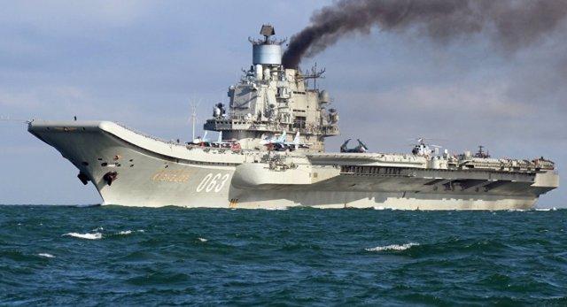 Admiral Kuznetsov - Contrato para reparo do porta-aviões Admiral Kuznetsov será assinado em abril