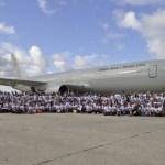 FAB: Esquadrão Corsário realiza transporte de 230 voluntários para Salvador