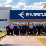 FAB recebe pela primeira vez grupo de usuários do Gripen