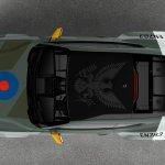 "AIRVENTURE: Ford ""Eagle Squadron"" Mustang GT homenageia pilotos dos EUA da Segunda Guerra Mundial"