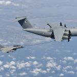 Airbus completa testes de reabastecimento do Rafale com o A400M