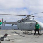 IMAGENS: Helicóptero não tripulado MQ-8C Fire Scout completa testes operacionais iniciais