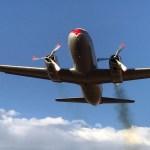 Antes de ir para um museu, aeronave Convair 340 cai na África do Sul