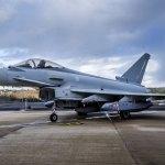 """RAF mais próxima de operar o Typhoon """"Centurion"""""""