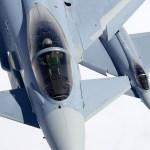 Esquadrão alemão registra a marca de 40.000 horas de voo nos jatos Eurofighters