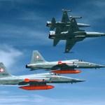 Suíça decide vender este ano mais da metade de seus caças F-5