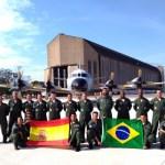 FAB: Esquadrão Orungan troca experiências com Força Aérea da Espanha