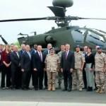 Boeing abre linha de montagem dos helicópteros Apache para o Catar