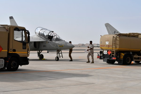 20181119 TourMedioOriente Qatar 13 600x400 - IMAGENS: Força Aérea Italiana conclui turnê de demonstrações pelo Oriente Médio
