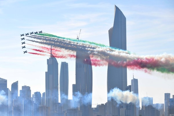 20181119 TourMedioOriente Qatar 142342 600x400 - IMAGENS: Força Aérea Italiana conclui turnê de demonstrações pelo Oriente Médio