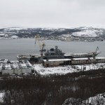Danos no porta-aviões Kuznetsov foram orçados em US$ 1,1 milhão