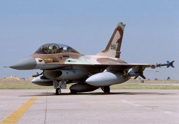 F 16B 600x416 - Israel pede desculpas por não poder vender seus F-16 para Croácia