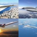 Aqui estão as aeronaves que devem trazer de volta os voos supersônicos comerciais