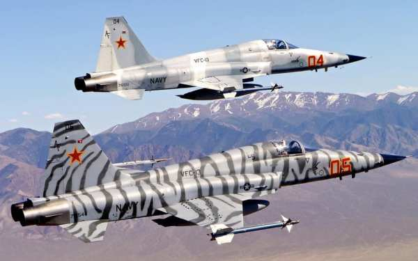 52403861 2641351785891339 2759033140650442752 n 600x375 - Marinha dos EUA prolongará a vida útil dos seus caças F-5