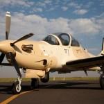 Embraer e Sierra Nevada recebem encomenda de 12 aeronaves A-29 Super Tucano para a Força Aérea da Nigéria