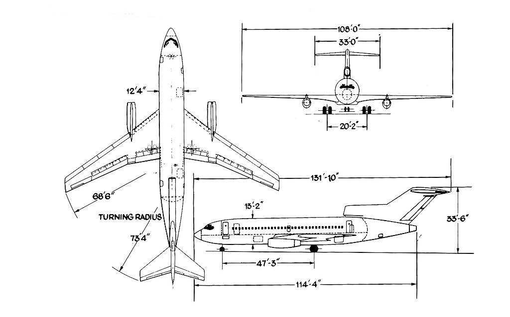 Gnesis Do Boeing 727