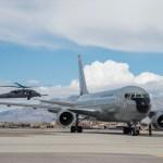 RED FLAG: Reabastecedor 767 Jupiter da FAC apoia os EA-18G Growlers da Marinha dos EUA