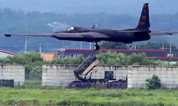 3937bb4 images 6 9 1 6 796196 8 eng GB 0822N Korea US drills U2 600x359 - Aeronaves U-2 retornam para Coreia do Sul após 40 dias no Japão