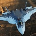 """Presidente russo diz que o Su-57 é """"a melhor aeronave do mundo"""""""