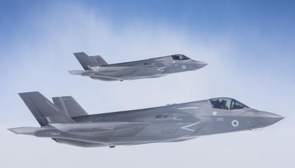 38GpPO OFFICIAL 20180607 087 162 600x341 - Reino Unido implantará seus F-35B no Chipre