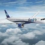 PARIS AIR SHOW: Embraer e Azul assinam pool de serviços para nova frota de jatos E195-E2