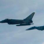 IMAGENS: Caças Typhoon da RAF destacados na Estônia interceptam cinco aeronaves russas em um dia