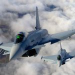 Piloto morre após Typhoons colidirem na Alemanha