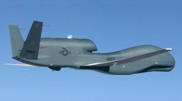 US Navy RQ 4N BAMS D 600x334 - CENTCOM confirma que drone abatido pelo Irã era um RQ-4A Global Hawk BAMS-D