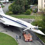 IMAGENS: Jato supersônico Tu-144 ganha nova vida como monumento na Rússia