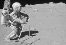 Apollo 50 anos astronauta da apollo 15 na lua - ESPECIAIS