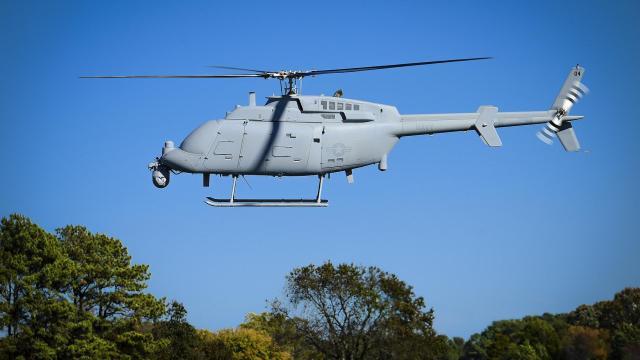 MQ8c Webster - Marinha dos EUA declara capacidade operacional inicial do MQ-8C Fire Scout