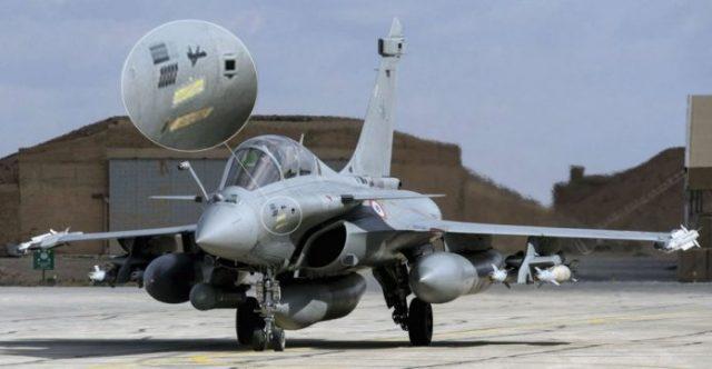 Rafale MQ 9 Kill Mark 696x361 - IMAGEM: Rafale francês visto com marcação por ter atingido um drone MQ-9 Reaper