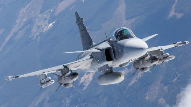 gripen c front 650x366 - Saab oferece Gripen para Força Aérea Chilena