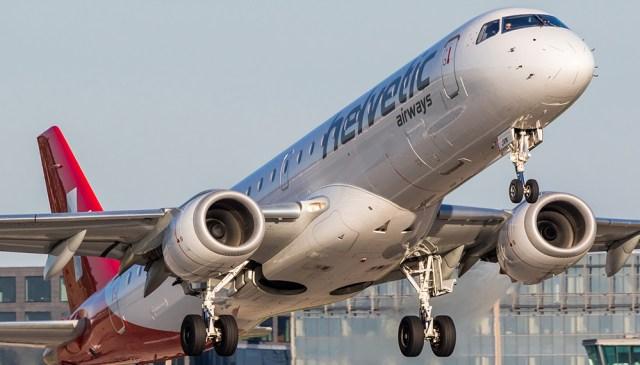 01 helvetic emb190 TisMeyer - Embraer assina contratos de suporte com operadoras da África e Europa