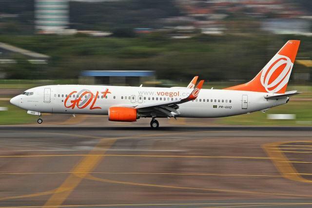 737 800 gol sbpa 34270897346 2 - Gol suspende voos de 11 Boeings 737 NG após inspeções de segurança