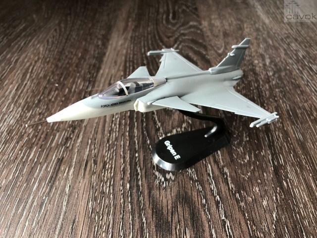 IMG 5568 - SORTEIO: Valendo a quarta maquete do F-39 Gripen da FAB