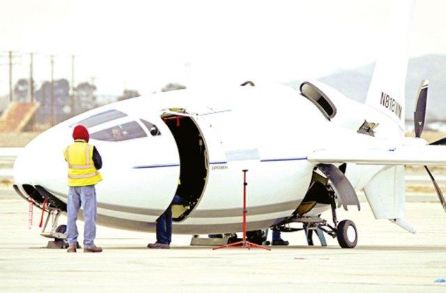 Celera 500L avion bala - Estranha e misteriosa aeronave Celera 500L teria realizado seu primeiro voo