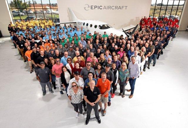 EF984s3WwAEiIg8 - Epic Aircraft recebe certificado do tipo da FAA para nova aeronave E1000