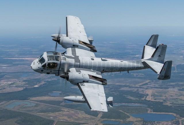 F2546E85 8350 48A8 8D22 1561B1B70A92 - Acidente com OV-1 Mohawk em show aéreo nos EUA