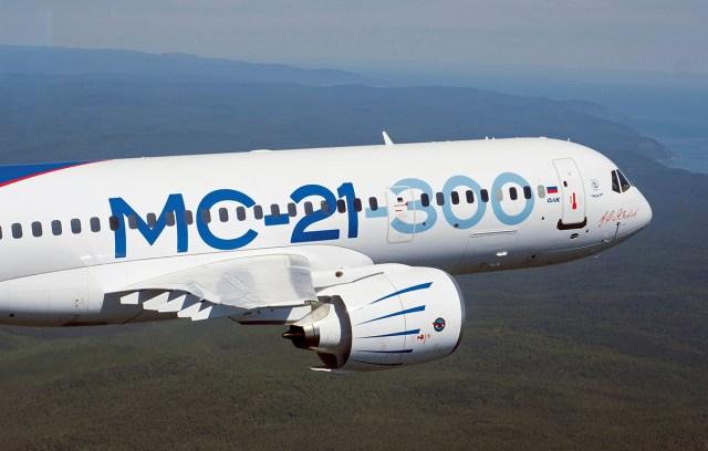 MC 21 300 EASA Flight - Especialistas da EASA concluem terceira sessão de voos de certificação do MC-21-300